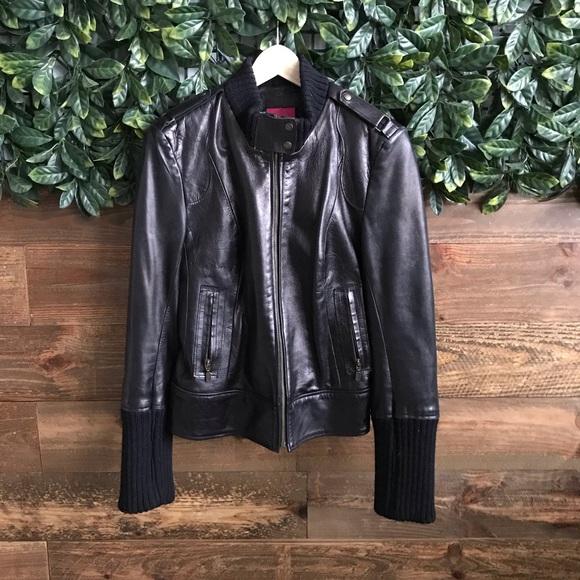 Mackage Jackets & Blazers - MACKAGE Jenny Leather Jacket - size L